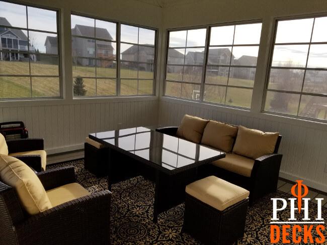 Wainscot_paneling_windows_porch_outdoor_furniture