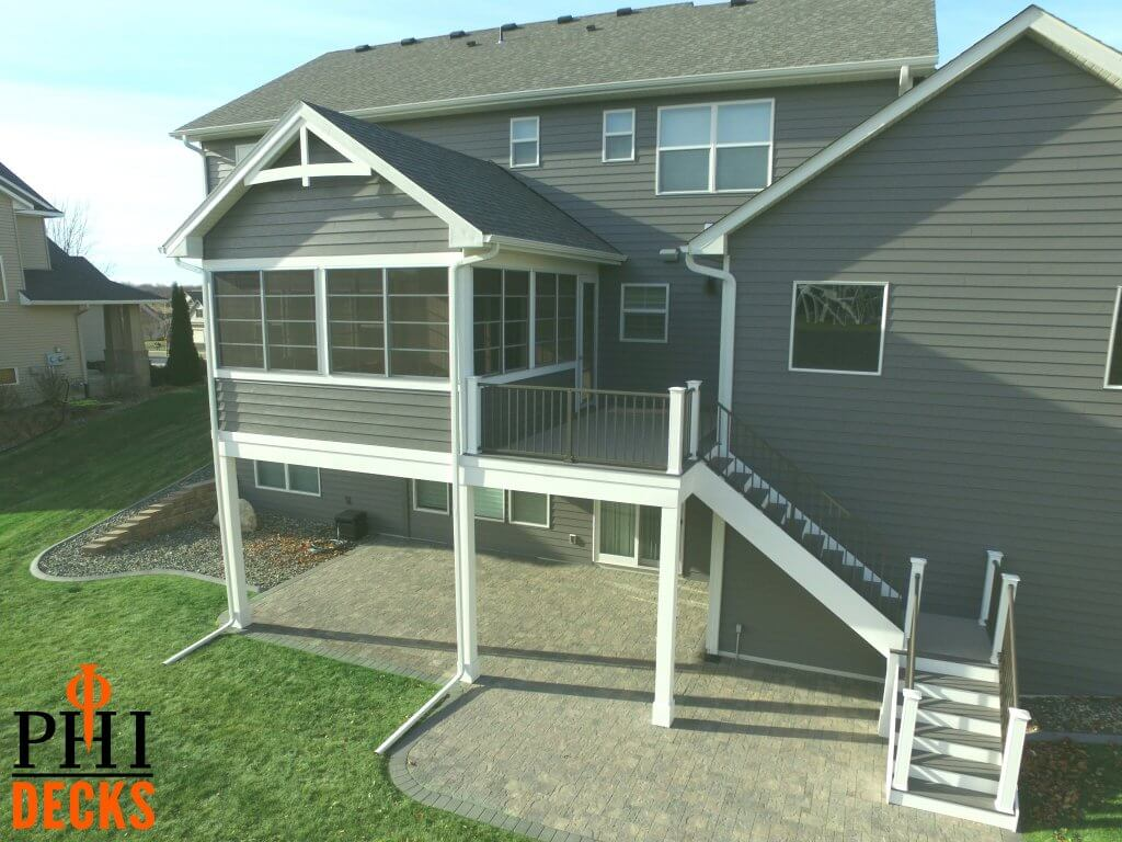 drone_steel_siding_3_season_porch_grill_deck_deck_stairs_paver_patio
