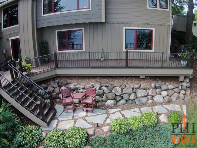 helical-footings-deck-over-retaining-wall-maple-grove